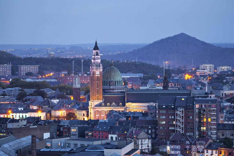 Charleroi en Belgique