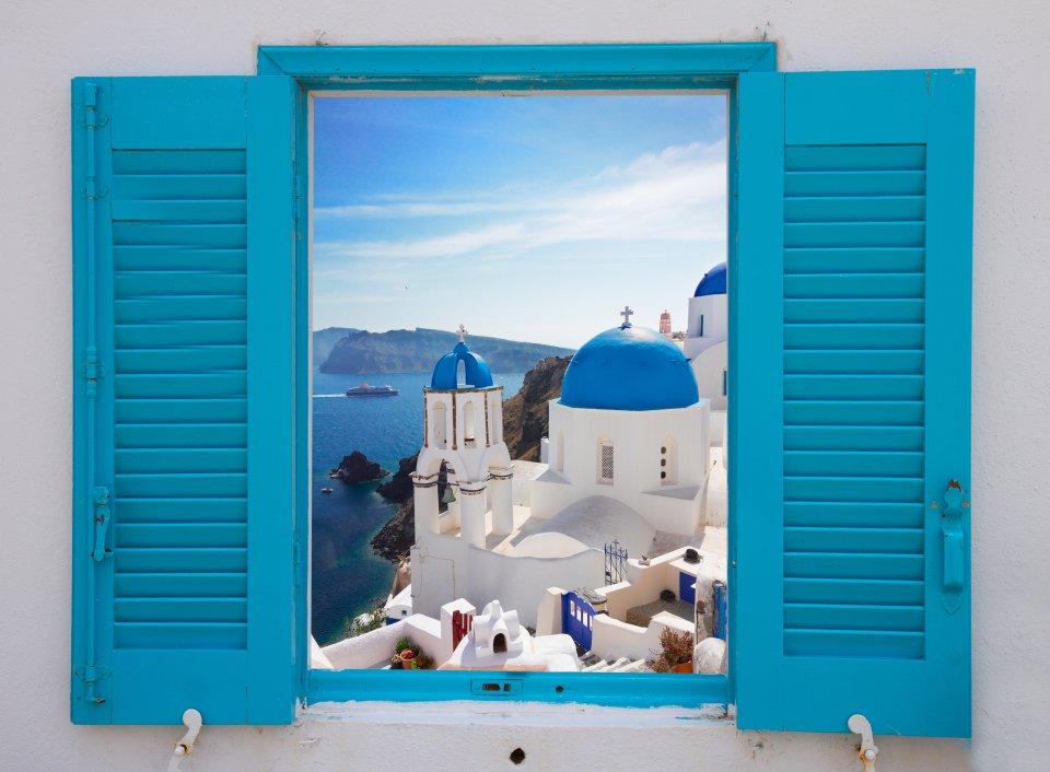 Beautiful Greek architecture