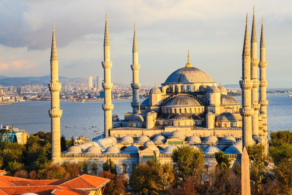 Istanbul doesn't fall short of fascinating historical sites