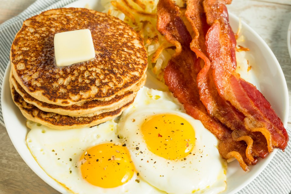 United States and Canada: pancakes