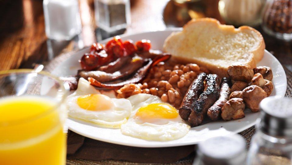 United Kingdom: British breakfast