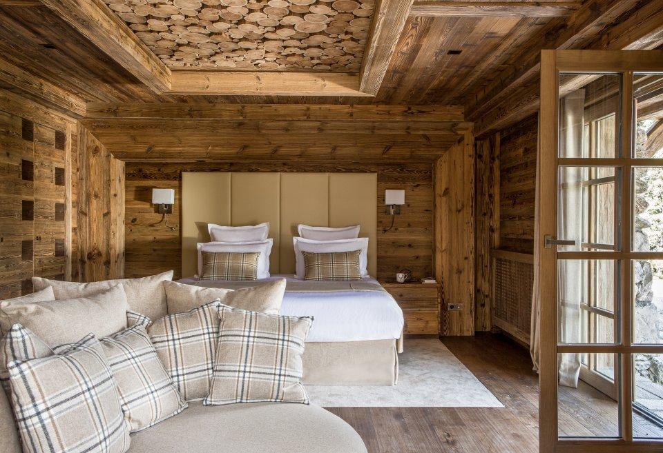Luxueux chalets en bois de mélèze
