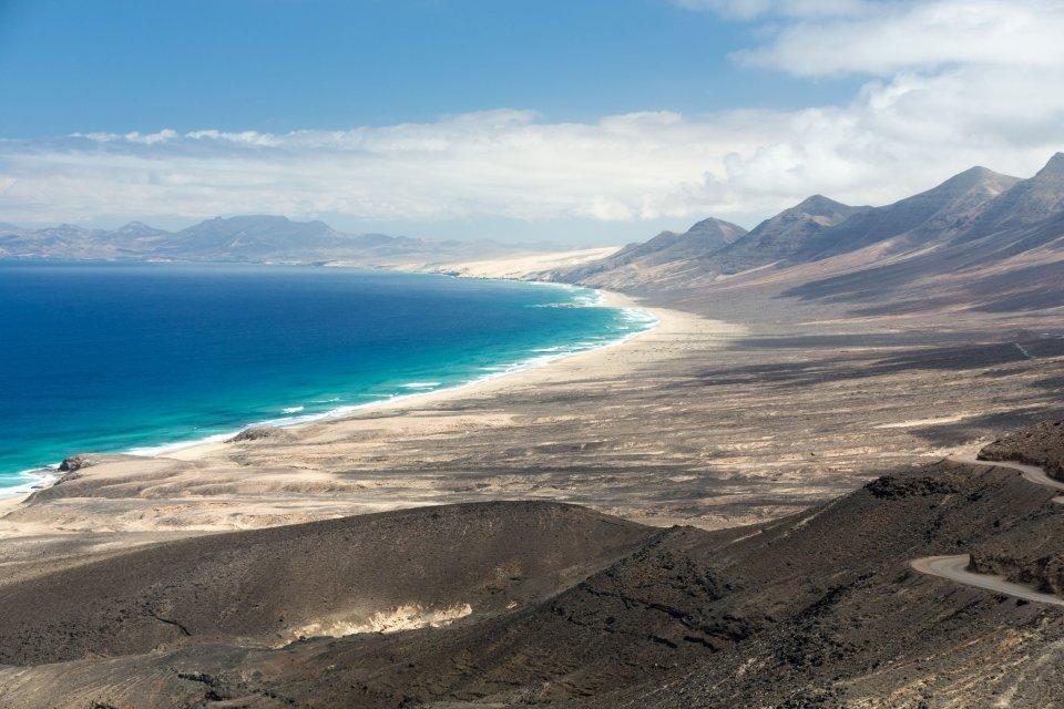 Playa de Cofete, Fuerteventura - 12 kilómetros