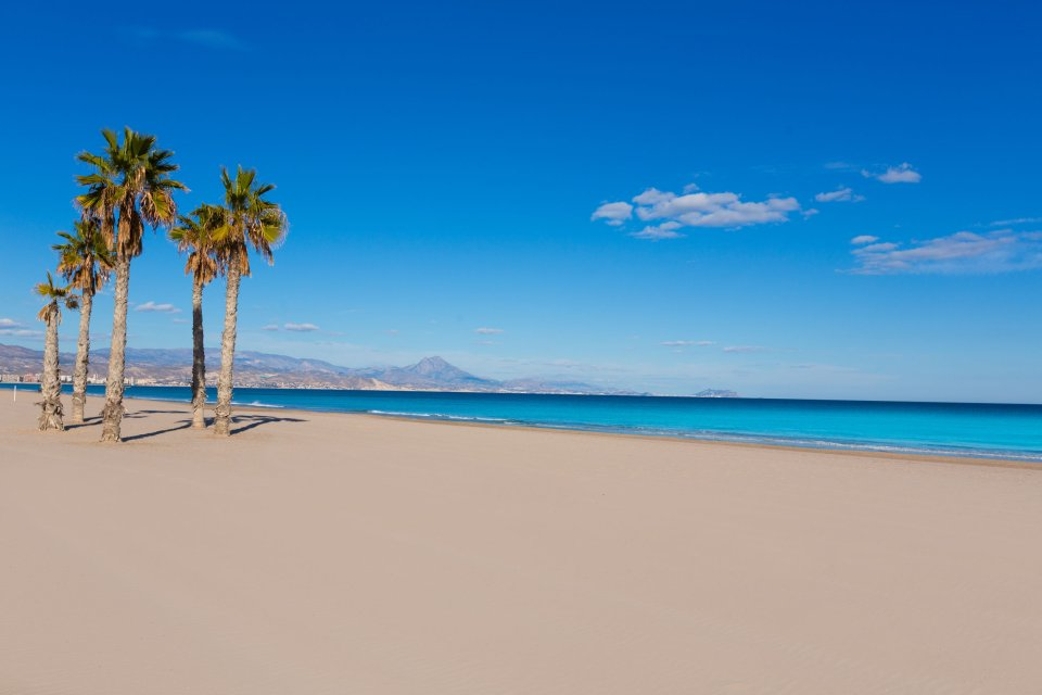 Playa de San Juan, Alicante - 6,2 kilómetros