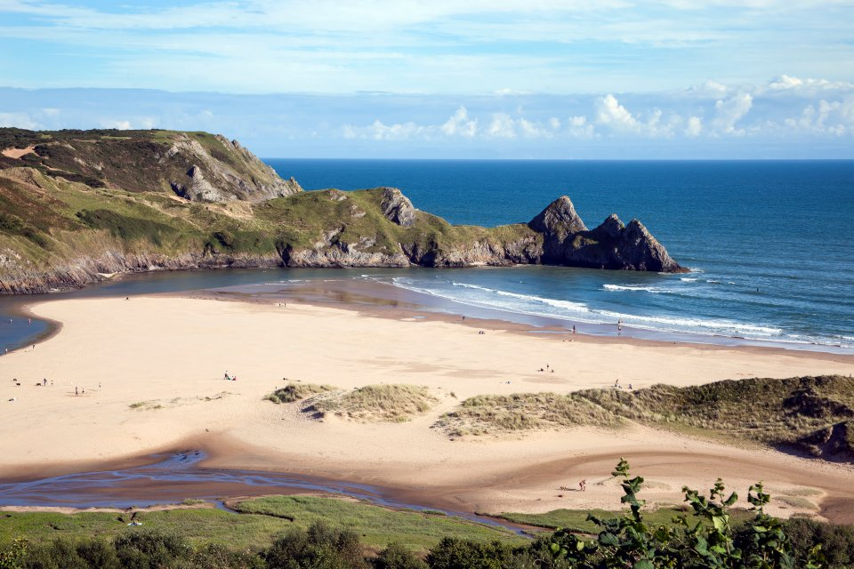 Three Cliffs Bay, Swansea