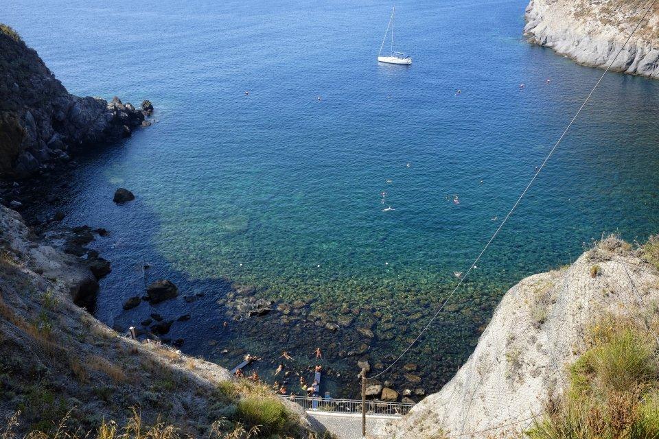 Bay of Sorgeto, Italy