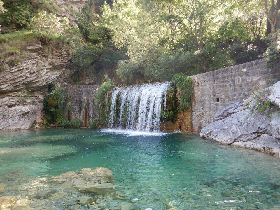 Cascate di Rio Barbaira, Liguria