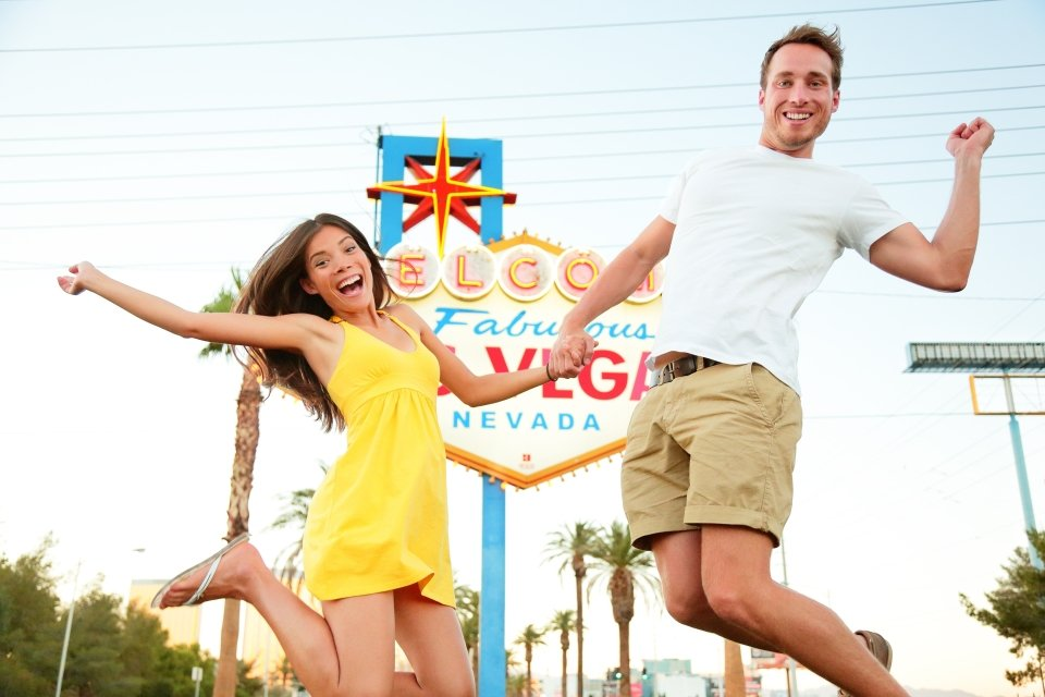 Getting hitched in Las Vegas