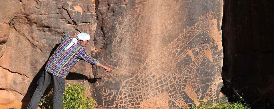 Les peintures rupestres de ajjer alg rie for Peinture satinee algerie prix