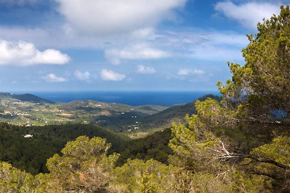 Les sierras du nord d'Ibiza , Les Sierras au nord d'Ibiza , Espagne