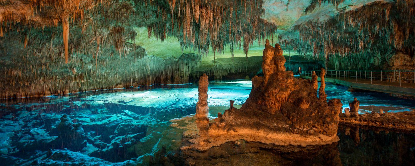 Grotte di Maiorca, Le grotte di Maiorca, I paesaggi, Baleari