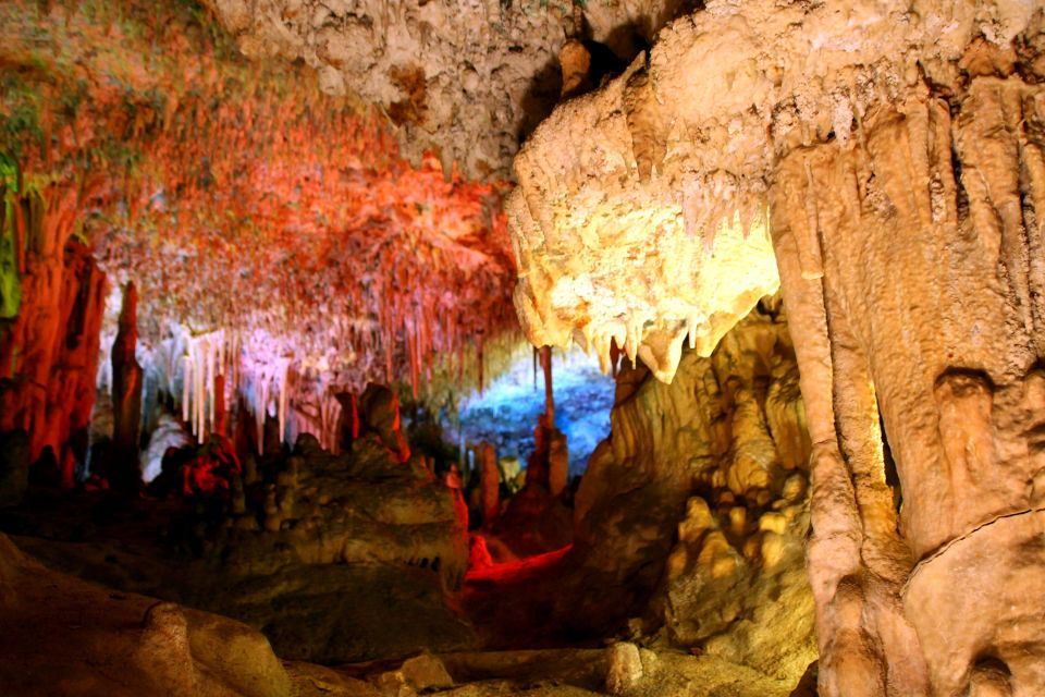 Les paysages, grotte, drach, souterrain, porto cristo, majorque, baléares, espagne, europe