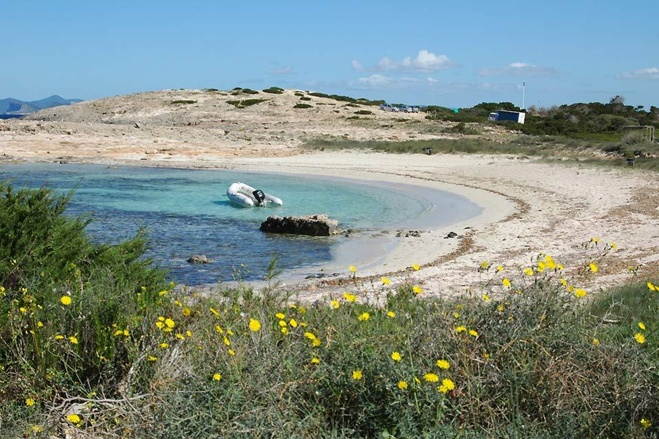Formentera , Formentera's beautiful beaches , Spain