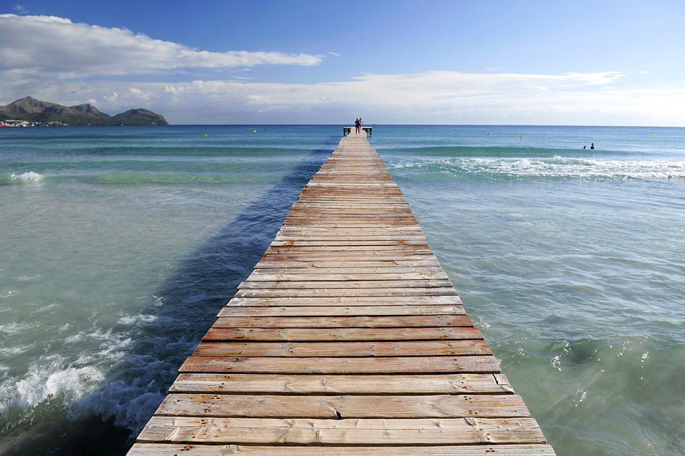 Mallorca , La costa norte , Sol, arena y mar. , España