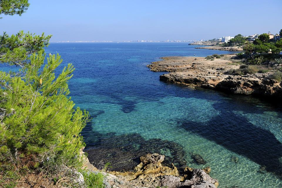 Majorca , The South coast , Palma de Mallorca , Spain