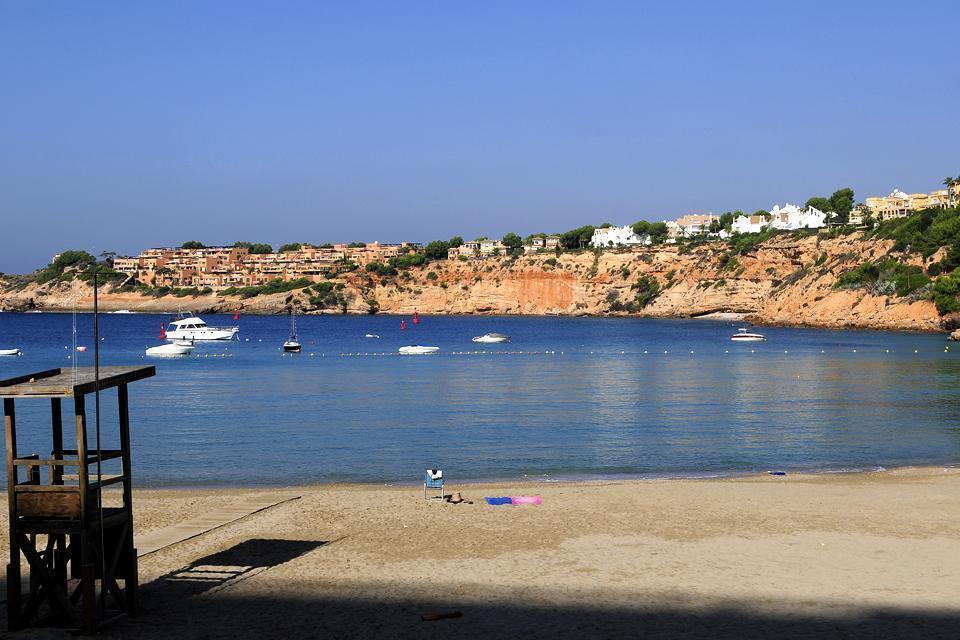Majorca , The South coast , A shuttle in Cala d'Or , Spain