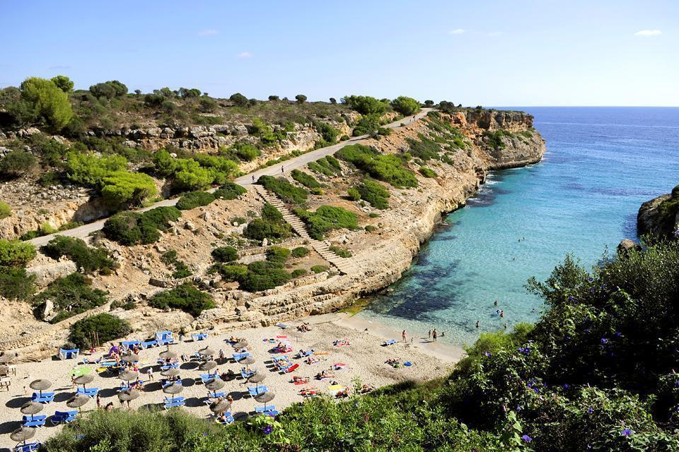 Majorca , The East coast , The east coast of Majorca , Spain