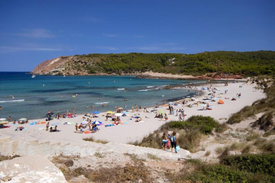 Minorque , La côte Nord , Espagne