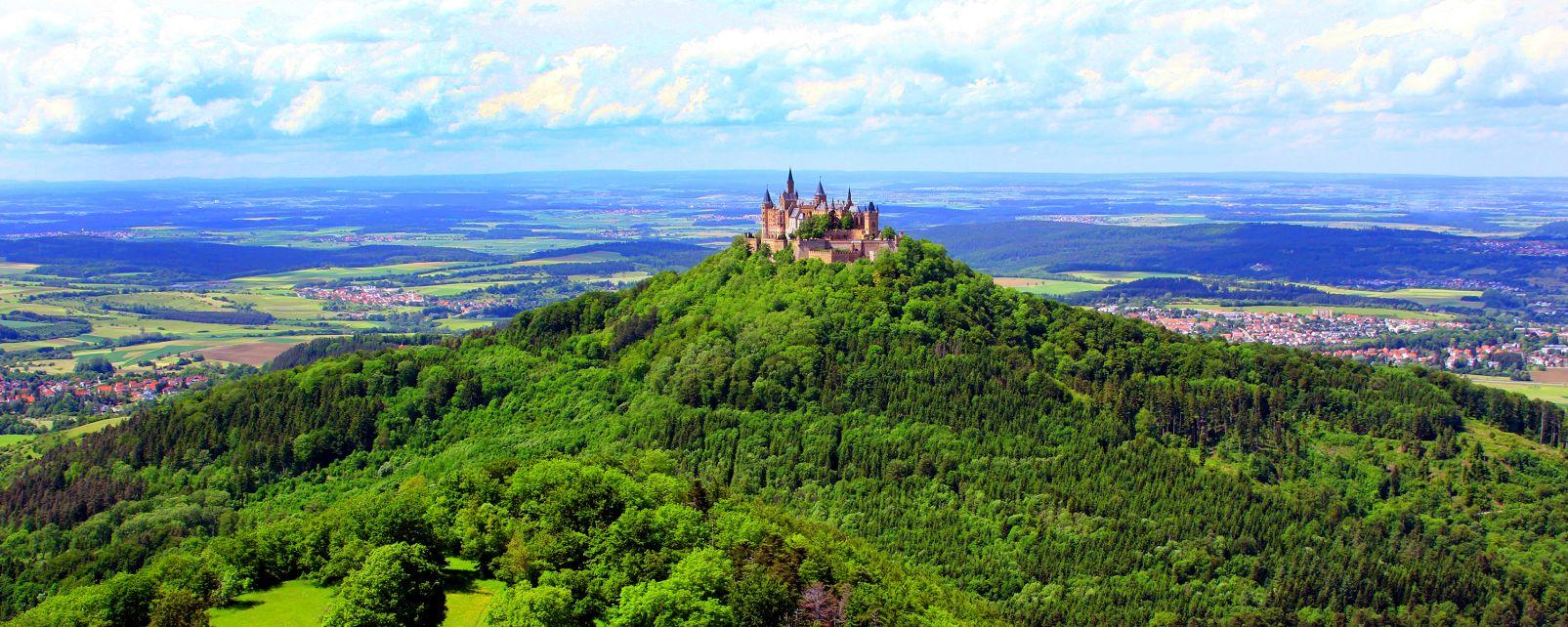 Le Bade-Wurtemberg: la vallée du Neckar, Le Bade-Wurtemberg, Les paysages, Allemagne