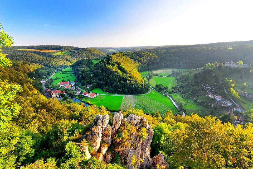 Spring meadows in Baden-Württemberg, Bade-Wurtemberg, Landscapes, Germany