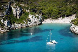 Minorque , La côte Sud , La côte sud de Minorque , Espagne