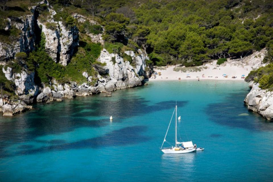 Minorca , La costa meridionale , La costa meridionale di Minorca , Spagna