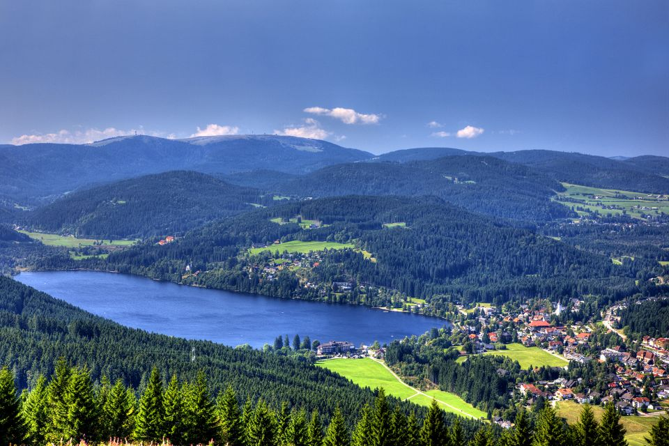 A village in the Black Forest, The Black Forest, Landscapes, Germany