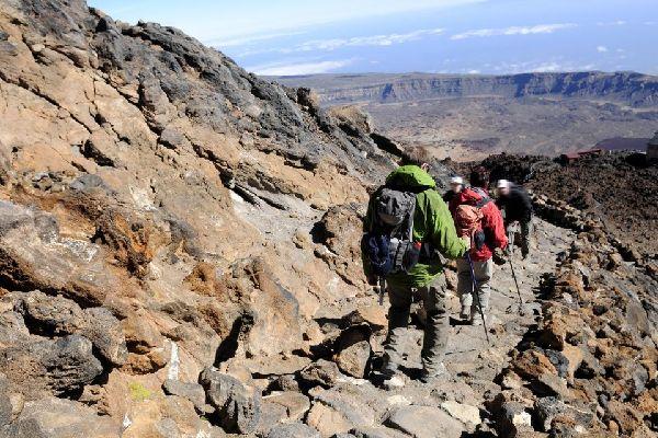 Tenerife , Parque Nacional del Teide , Los últimos metros se hacen a pie , España