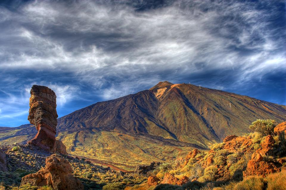 Tenerife , Del Teide National Park , Teide National Park, Tenerife , Spain