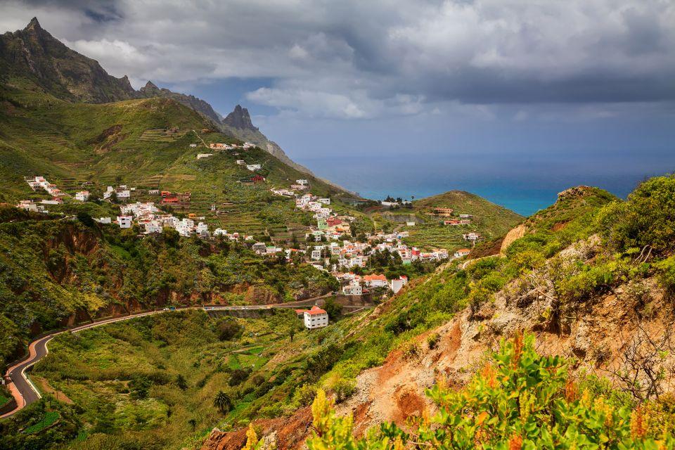 Les paysages, taganana, anaga, ténérife, cararies, espagne, europe, mont, côte