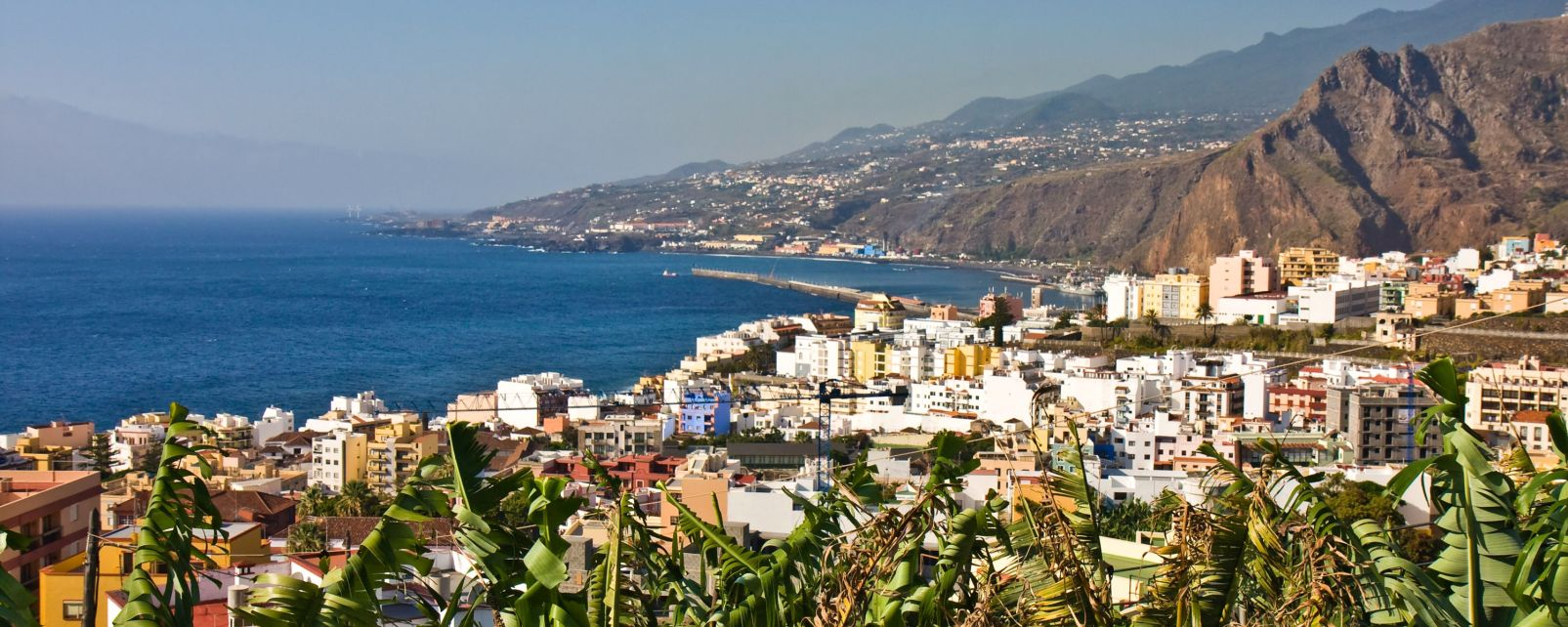 Les paysages, europe, afrique, canaries, espagne, la palma, île, archipel, océan, atlantique