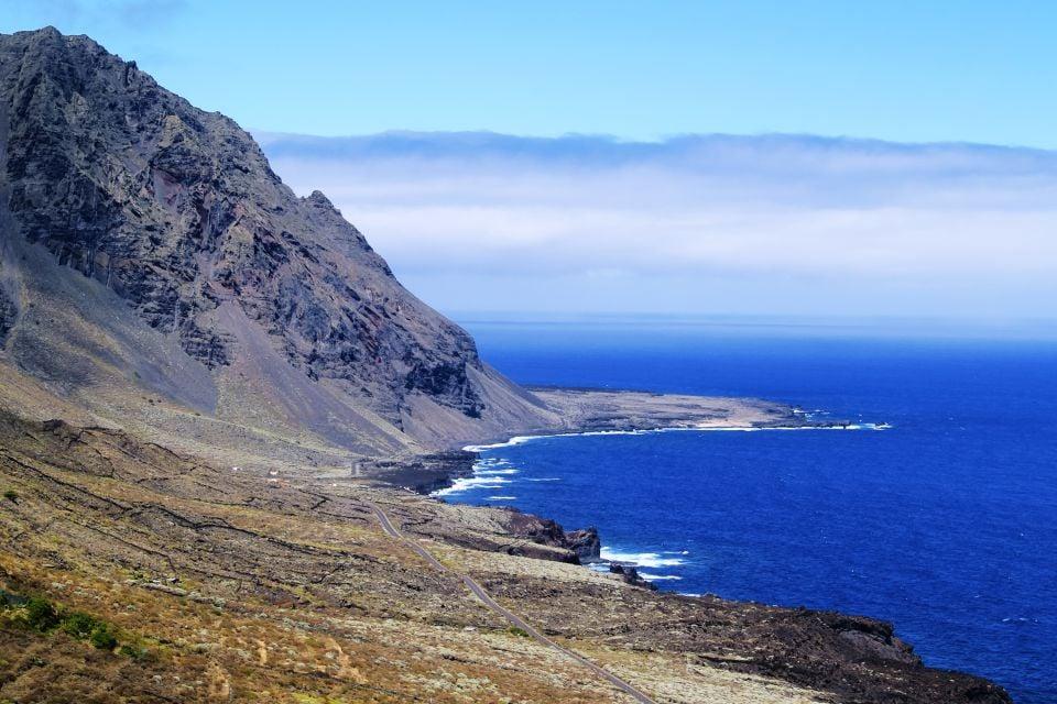 Les paysages, hierro, canaries, europe, espagne, océan, atlantique, afrique