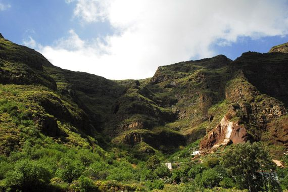 Les paysages, las, palmas, gran, canaria, canaries, europe, espagne, océan, atlantique, afrique, grande canarie