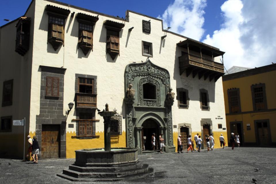 Grande Canarie , La maison de Colomb , Espagne