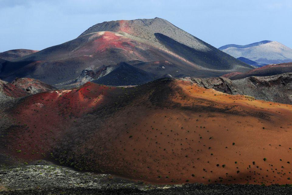 Lanzarote , Le parc national de Timanfaya , Les montagnes de feu , Espagne