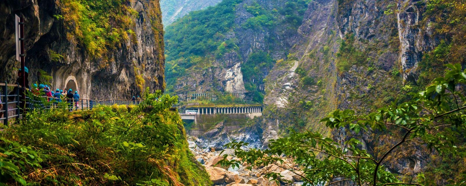 Les Gorges de Taroko , Taïwan