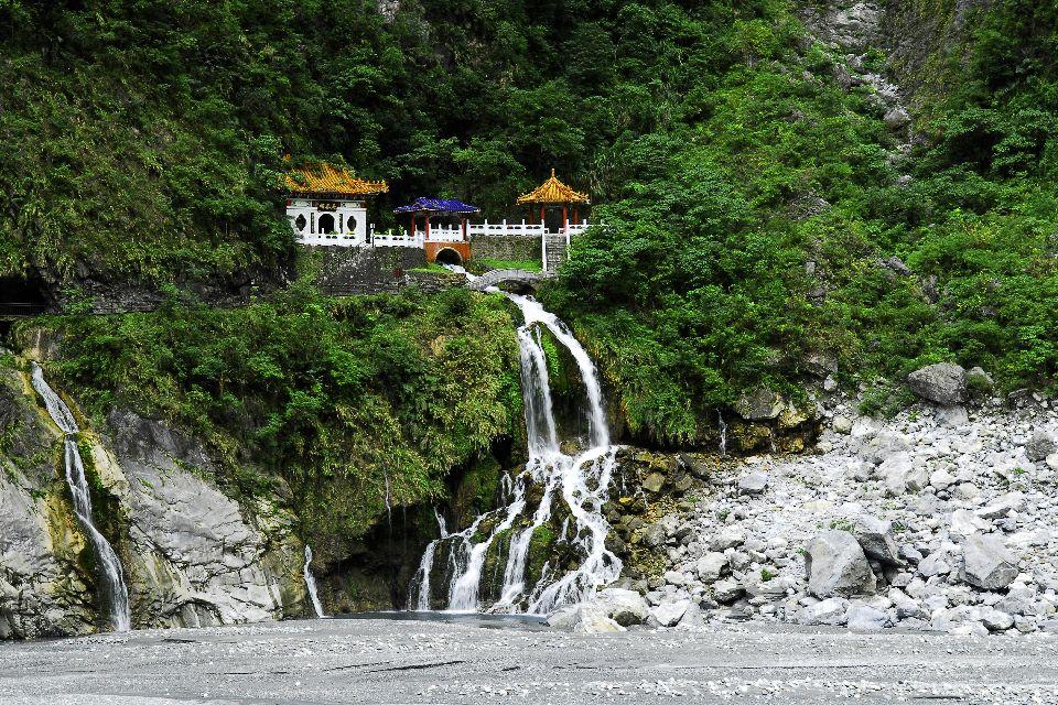 Les Gorges de Taroko , Le sanctuaire de l'Eternal Spring , Taïwan