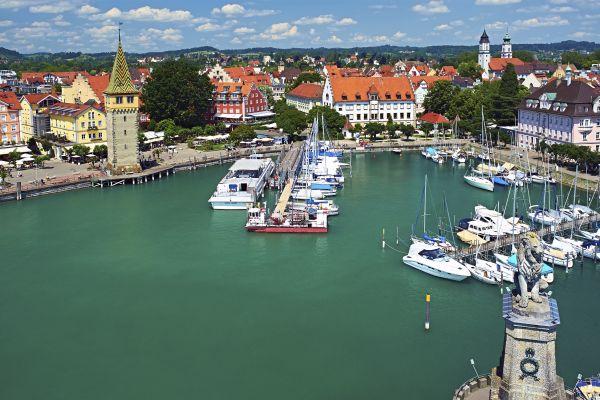 Lake Constance , Bulrush around Lake Constance , Germany