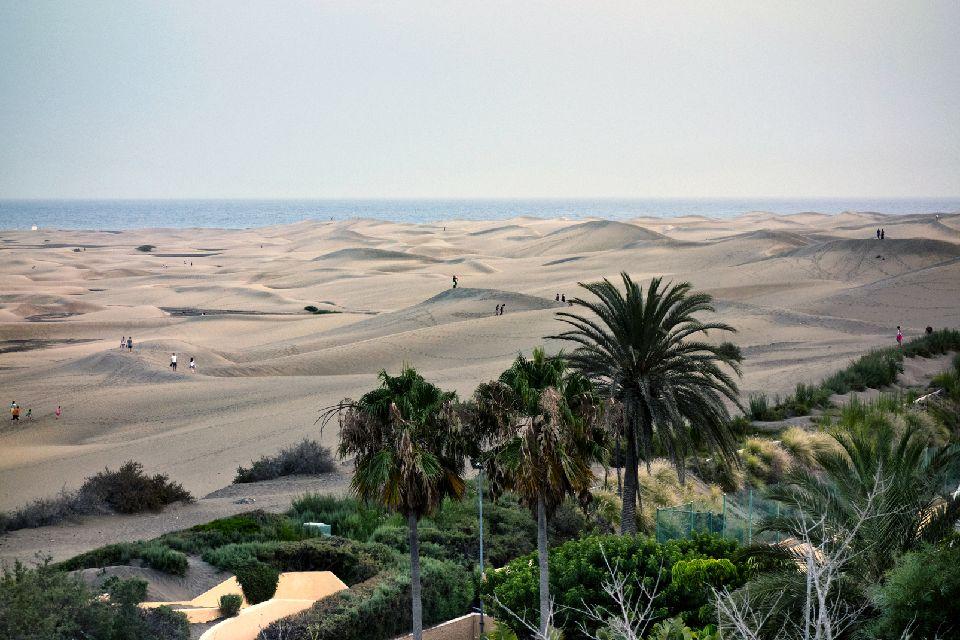 Gran Canaria- Maspalomas , Las dunas de Maspalomas , España