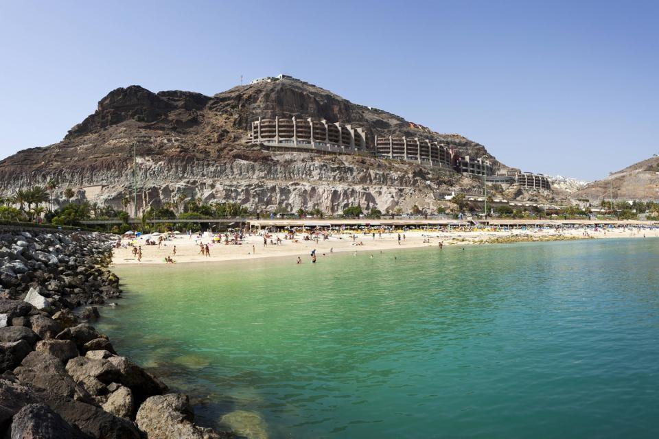 Grand Canaria -Maspalomas , Gran Canaria , Puerto Rico , Spain