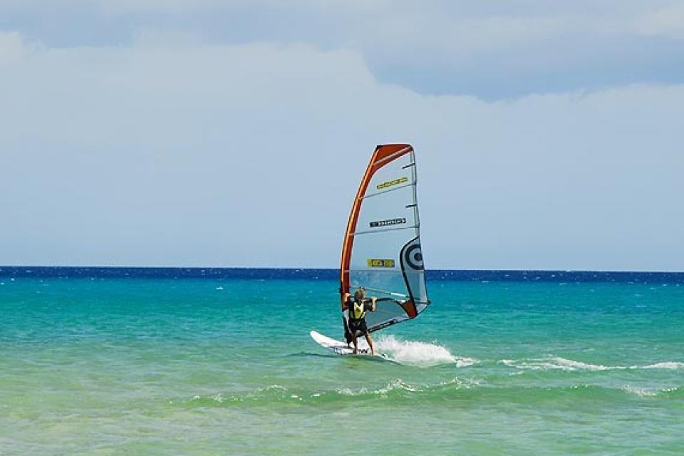 Grand Canaria , Puerto Rico , A spot of kite-surfing , Spain