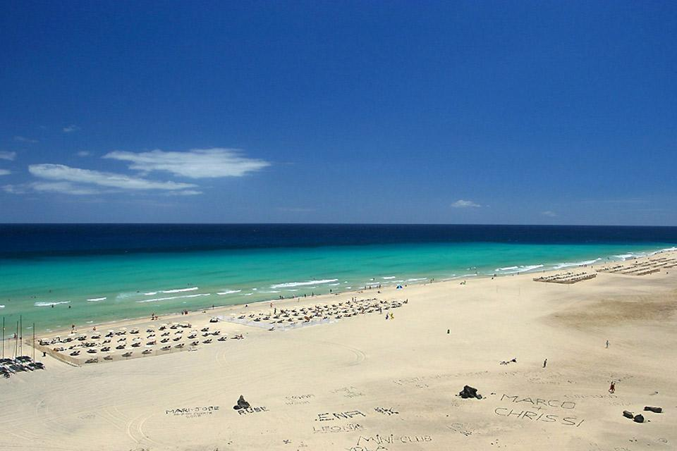 Grand Canaria , Puerto Rico , One of Europe's longest beaches , Spain