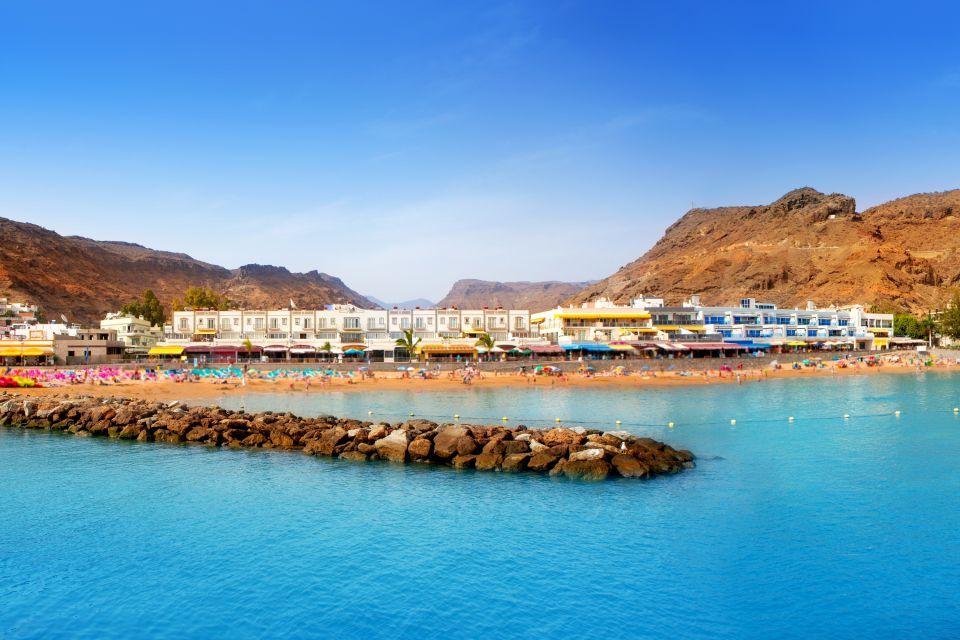 Gran Canaria - Puerto de Mogan, Fuerteventura - La península de Jandía, Las costas, Canarias