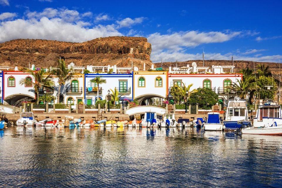 Un puerto de pescadores, Fuerteventura - La península de Jandía, Las costas, Canarias