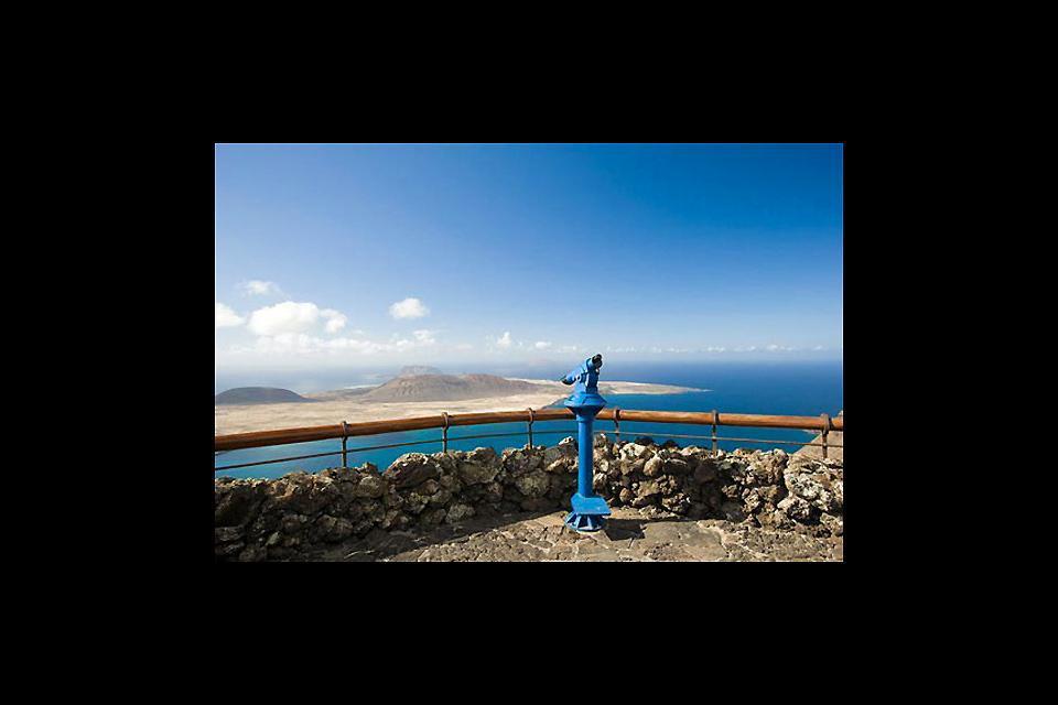 Lanzarote , Le Mirador del Rio , Un point d'observation idéal , Espagne