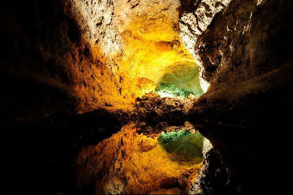 Lanzarote , Cueva de los Verdes , L'entrée de l'Atlantide ? , Espagne
