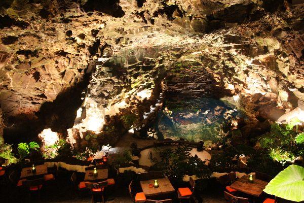 Lanzarote , Jameos del Agua , Espagne