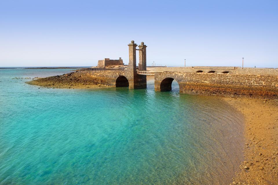 Lanzarote , Das archäologische Museum von Schloss San Gabriel , Lanzarote: archäologisches Museum , Spanien