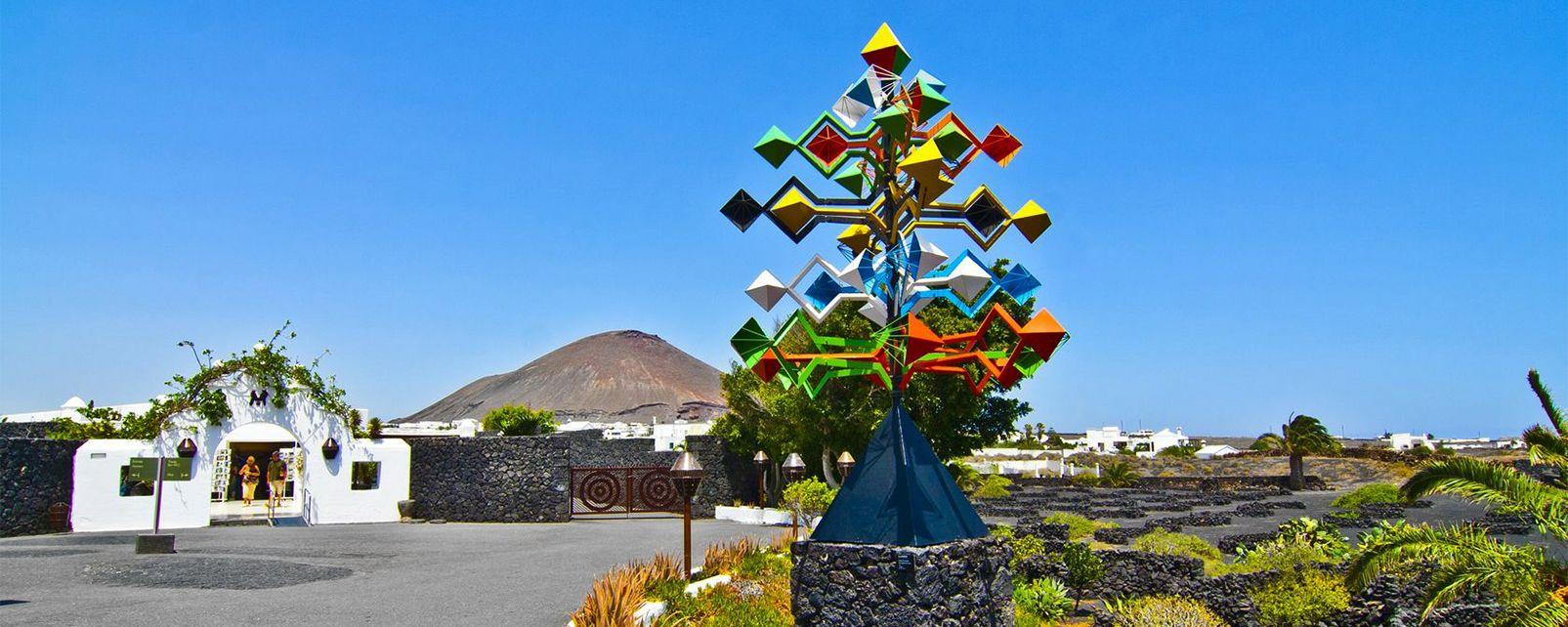 Lanzarote - La fondation César Manrique, Les arts et la culture, Canaries