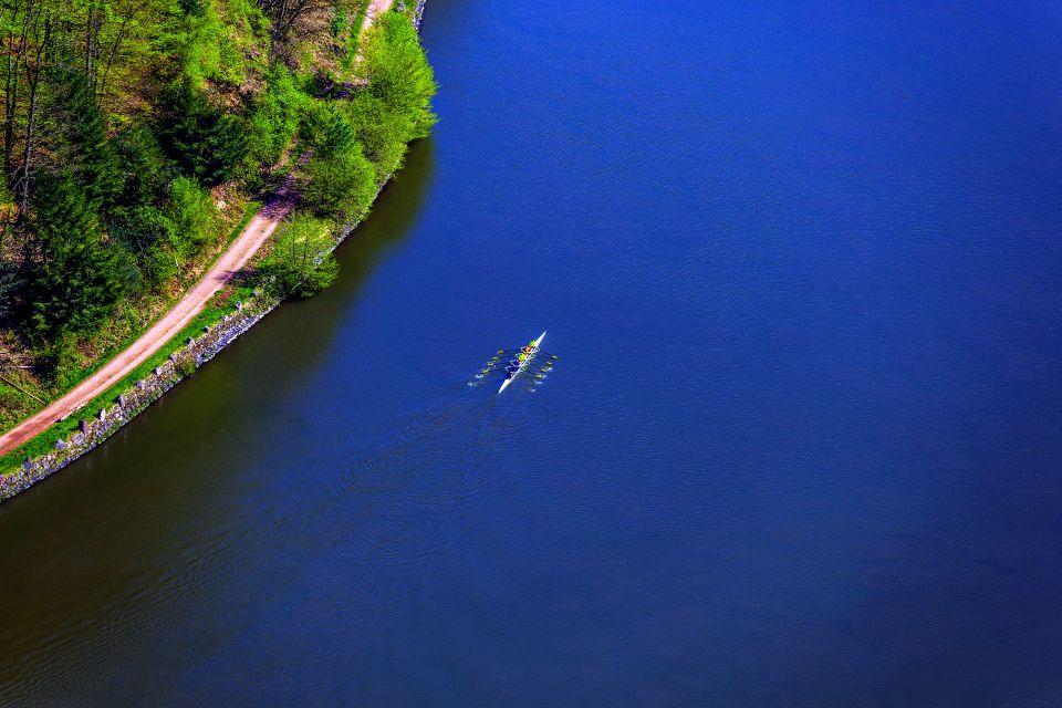 La Sarre , Paysage fluvial de la Sarre , Allemagne